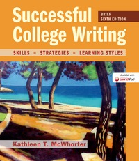 Successful College Writing, Brief Edition 6th Edition 9781319051419 1319051413