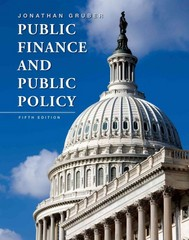 Public Finance and Public Policy 5th Edition 9781319075132 1319075134
