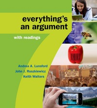 High School Version for Everything's an Argument with Readings 7th Edition 9781319016326 1319016324