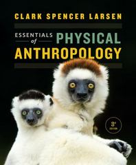 Essentials of Physical Anthropology 3rd Edition 9780393938661 0393938662