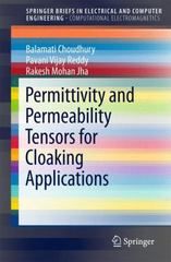 Permittivity and Permeability Tensors for Cloaking Applications 1st Edition 9789812878052 981287805X