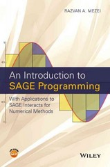 An Introduction to SAGE Programming 1st Edition 9781119122784 1119122783