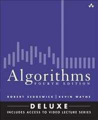 Algorithms, Fourth Edition (Deluxe) 1st Edition 9780134384689 0134384687