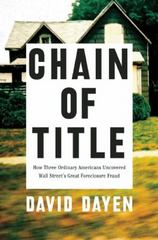 Chain of Title 1st Edition 9781620971598 1620971593