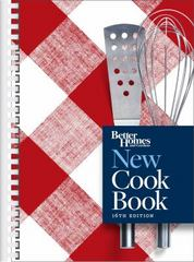 Better Homes and Gardens New Cook Book, 16th Edition 16th Edition 9780544714465 0544714466