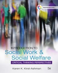 Empowerment Series: Introduction to Social Work & Social Welfare 5th Edition 9781305856080 1305856082