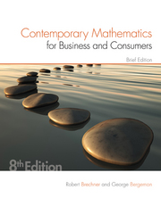 Contemporary Mathematics for Business & Consumers, Brief Edition 8th Edition 9781305585454 1305585453