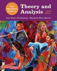 The Musician's Guide to Theory and Analysis 3rd Edition 9780393263053 0393263053