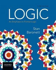 Logic: An Emphasis on Formal Logic 3rd Edition 9780190268626 019026862X