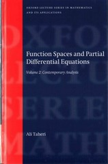 Function Spaces and Partial Differential Equations 1st Edition 9780191047848 0191047848
