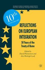 Reflections on European Integration 1st Edition 9781137574848 1137574844
