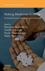 Making Medicines in Africa 1st Edition 9781137546463 1137546468