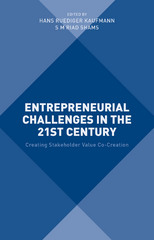 Entrepreneurial Challenges in the 21st Century 1st Edition 9781137479747 1137479744