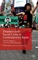 Disasters and Social Crisis in Contemporary Japan 1st Edition 9781137521316 1137521317