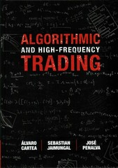 Algorithmic and High-Frequency Trading 1st Edition 9781107091146 1107091144