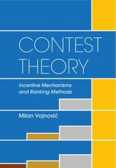 Contest Theory 1st Edition 9781107033139 1107033136