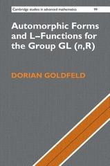 Automorphic Forms and l-Functions for the Group GL(n,R) 1st Edition 9781107565029 1107565022