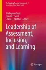 Leadership of Assessment, Inclusion, and Learning 1st Edition 9783319233468 3319233467