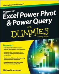Excel Power Pivot and Power Query For Dummies 1st Edition 9781119210641 111921064X