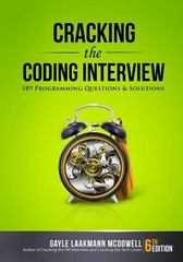 Cracking the Coding Interview 6th Edition 9780984782857 0984782850