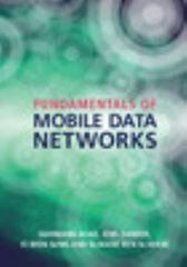 Fundamentals of Mobile Data Networks 1st Edition 9781107143210 1107143217