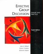 Effective Group Discussion 10th edition 9780072315684 0072315687