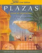 Plazas 2nd edition 9781428211605 1428211608