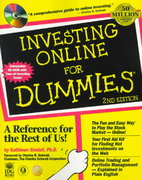 Investing Online For Dummies 2nd edition 9780764505096 0764505092