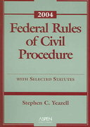 Civil Procedure 2004 0 9780735540958 0735540950