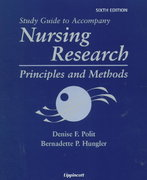 Nursing Research 6th edition 9780781715638 0781715636