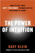 The Power of Intuition 1st Edition 9780385502894 0385502893