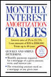 Monthly Interest Amortization Tables 1st edition 9780809235643 0809235641