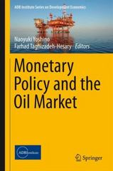 Monetary Policy and the Oil Market 1st Edition 9784431557975 4431557970