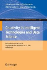 Creativity in Intelligent Technologies and Data Science 1st Edition 9783319237664 3319237667