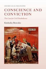 Conscience and Conviction 1st Edition 9780198759461 0198759460
