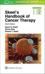 Skeel's Handbook of Cancer Therapy 9th Edition 9781496305558 1496305558