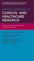 Oxford Handbook of Clinical and Healthcare Research 1st Edition 9780191502958 0191502952