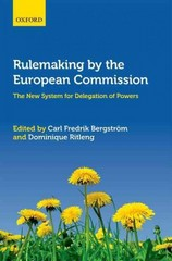 Rulemaking by the European Commission 1st Edition 9780191008467 019100846X