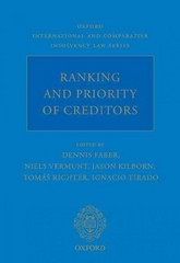Ranking and Priority of Creditors 1st Edition 9780198727293 0198727291