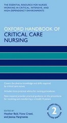 Oxford Handbook of Critical Care Nursing 2nd Edition 9780191004452 0191004456