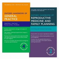 Oxford Handbook of General Practice 4e & Oxford Handbook of Reproductive Medicine and Family Planning  2e PACK 4th Edition 9780198766346 0198766343
