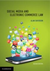 Social Media and Electronic Commerce Law 2nd Edition 9781107500532 1107500532