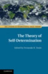 The Theory of Self-Determination 1st Edition 9781107119130 1107119138