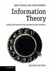 Information Theory 2nd Edition 9781107565043 1107565049