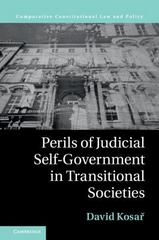 Perils of Judicial Self-Government in Transitional Societies 1st Edition 9781107112124 1107112125