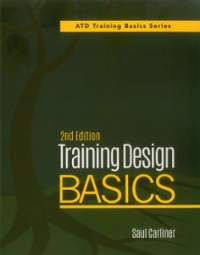 Training Design Basics 2nd Edition 9781562869250 1562869256