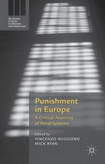 Punishment in Europe 1st Edition 9781137572424 1137572426