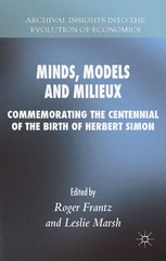 Minds, Models and Milieux 1st Edition 9781137442499 1137442492