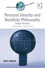 Personal Identity and Buddhist Philosophy 2nd Edition 9781472446459 1472446453