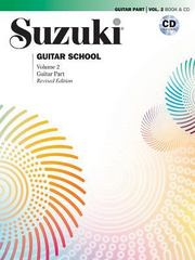Suzuki Guitar School, Vol 2 1st Edition 9781470629809 1470629801